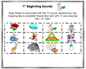 Alphabet Beginning Sounds Sorts! READY TO PRINT (Orton-Gillingham Inspired)