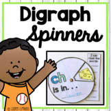 Beginning and Ending Ch Sh Th Wh Digraph Spinner Activity