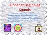Alphabet Beginning Sounds-Uppercase & Lowercase