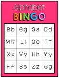 [Full-Page] Rainbow Alphabet Bingo