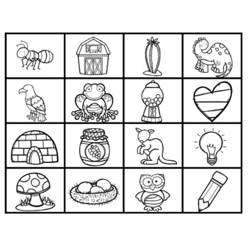 Alphabet Bingo - Letter and Sound Recognition