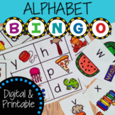 Alphabet Bingo Activity | Digital and Printable Game