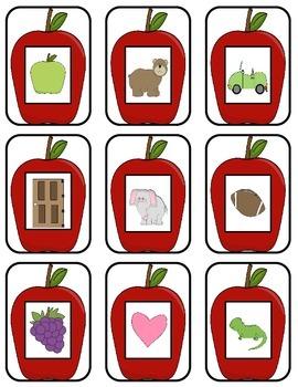 Alphabet Bingo Apple Style