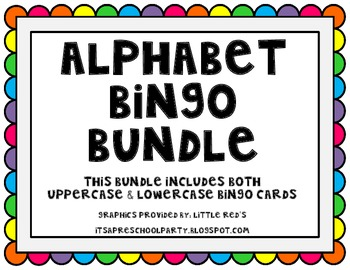 Alphabet Bingo Bundle