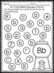 Alphabet Letter Identification - Bingo Dauber Activities