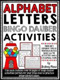 Alphabet Letter Identification - Bingo Dauber Activities
