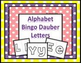 Alphabet Bingo Dauber Free