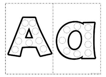 Alphabet Bingo Dauber Letters