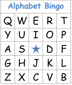 Alphabet Bingo FREE!