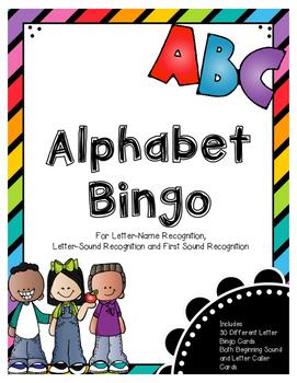 Alphabet Bingo (Great for RtI Groups)