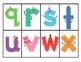 Alphabet Bingo Lowercase Version