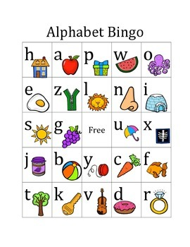 Alphabet Bingo Mega Pack