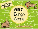 Alphabet Bingo Take-Home Game