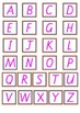 Alphabet Bingo Upper and Lower Case Letters