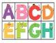 Alphabet Bingo Uppercase Version