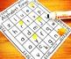 Alphabet Bingo Uppercase and Lowercase Letters