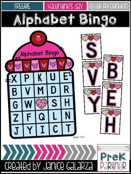 Alphabet Bingo {{Valentine's Day}}