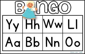 Alphabet Bingo - Winter Theme