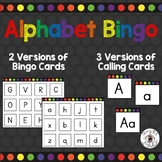 Alphabet Matching Game with Uppercase and Lowercase Letters