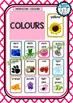 Back To School - Alpha Birth Weather Calendar Colour Number Shape Posters Moroc