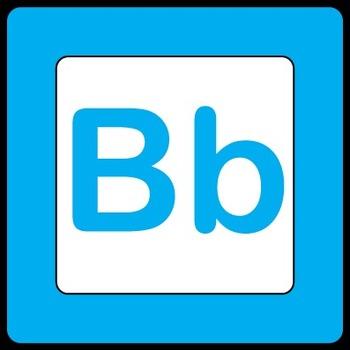 A Freebie Alphabet Block Clip Art Set {Messare Clips and Design}