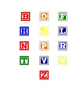 Alphabet Block Matching