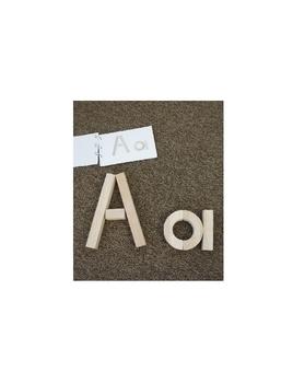Alphabet Blocks Book (1/2 sheet pages)