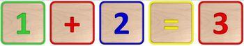 Alphabet and Number Blocks Clip Art