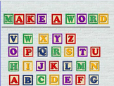 Alphabet Blocks- Make A Word Promethean Flipchart