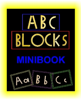 Alphabet Blocks (minibook)