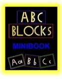 Alphabet Blocks (minibook)