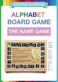 Alphabet Board Game - The Name Game