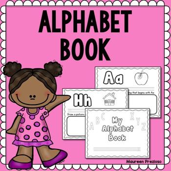 Alphabet Book for Pre-K and Kindergarten
