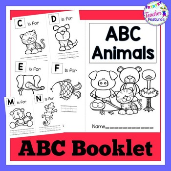 Alphabet Book: Letters A to Z with Animals