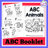 Alphabet Book Printable | Letters A-Z |  with Animals Theme
