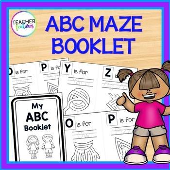 Alphabet Book with Mazes