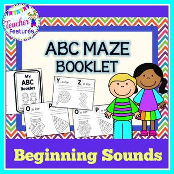 Alphabet Book with Mazes