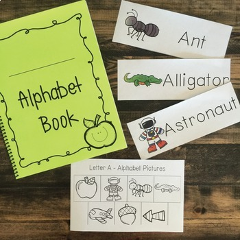 Letter of the Week- Alphabet Book
