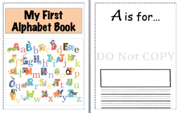 Customizable Alphabet Book