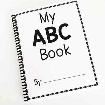 Alphabet Book {A Paper Tearing Activity}