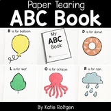 Alphabet Book {A Paper Tearing Activity}