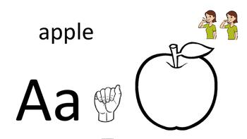 Alphabet Book - ASL
