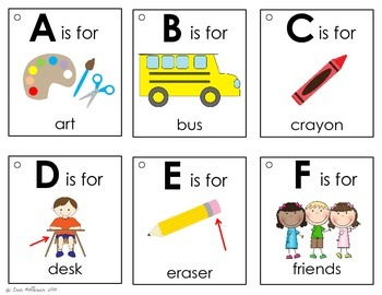 Alphabet Book - Back to School