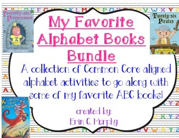 Alphabet Book Bundle