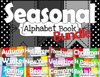 Alphabet Book Bundle
