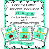 Alphabet Books - Letters A to Z