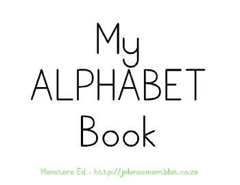 Alphabet Book-CAPITALS