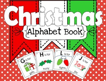 Alphabet Book - Christmas