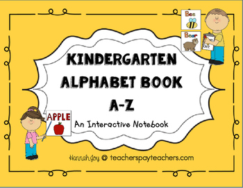 Alphabet Book- Copier Friendly!!