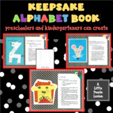 ALPHABET BOOK: Creating a keepsake of a young child's uniq